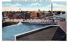 Fairport Lift Bridge in 1915-1920