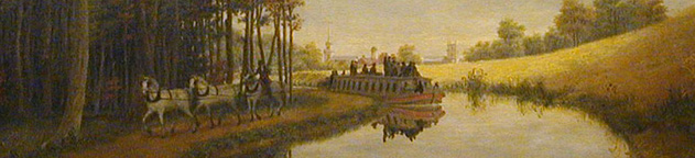 George Harvey: Pittsford on the Erie Canal