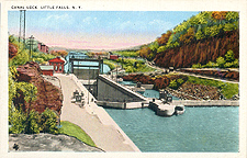 Canal Lock, Little Falls, N.Y.