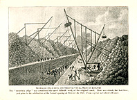Method of Excavating the Original Canal, West of Lockport