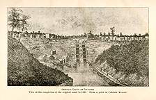 Original Locks at Lockport [1825]