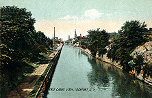 Erie Canal View, Lockport, N.Y.