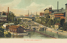 Erie Canal Locks, Lockport, N.Y.