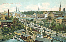 View of Locks, Lockport, N.Y.