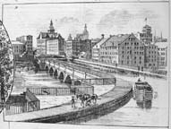Rochester's second Erie Canal aqueduct