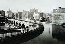 Erie Canal Aqueduct in 1890