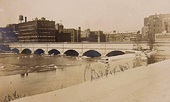 Erie Canal Aqueduct in 1906