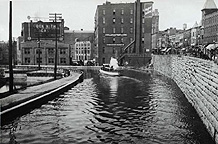 Erie Canal Aqueduct in the early 1910s