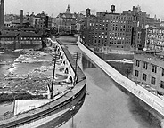 Erie Canal Aqueduct between 1920 and 1922