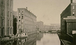 Erie Canal near Exchange Street