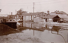 Erie Canal near Plymouth Avenue Bridge