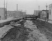 Erie Canal near Plymouth Avenue