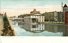 Syracuse, N.Y. Erie Canal Office, 1905