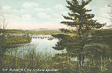 Fort Hunter, N.Y., The Schoharie Aqueduct