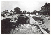 Enlarged Erie Canal Lock No. 30, Fort Hunter, N.Y.