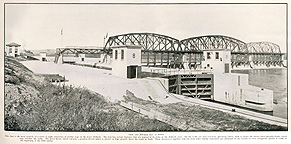Lock no. 8, Scotia, N.Y., 1916