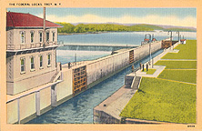 Locks, Erie Canal, Watervliet, N.Y.
