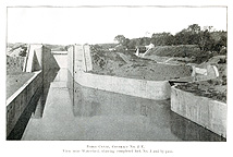 Lock No. 3 at Waterford, N.Y.