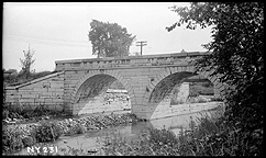 Remains of Erie Canal Aqueduct, Frankfort, N.Y.