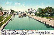 Frankfort Lock, Erie Canal, Frankfort, N.Y.