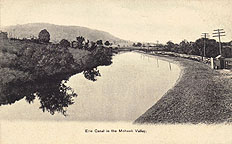 Erie Canal in the Mohawk Valley near Utica, N.Y.