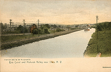 Erie Canal and Mohawk Valley near Utica, N.Y.