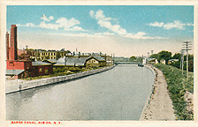 Erie Barge Canal, Albion, N.Y.