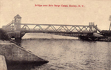 Bridge over Erie Barge Canal, Holley, N.Y.
