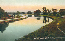 Lower Lock, Erie Canal, Newark, N.Y.