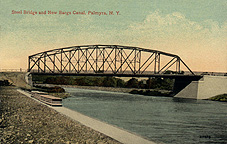 Scene on the Erie Canal, Palmyra, N.Y.