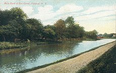 Berm Bank of Erie Canal, Pittsford, N.Y.
