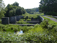 Nine Mile Creek Aqueduct - Looking west