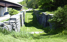 Erie Canal Lock No. 36 -- West end of the south chamber