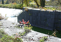 Erie Canal Lock No. 56 at Lyons - north chamber