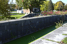 Erie Canal Lock No. 56 at Lyons - eastern end