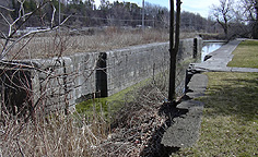 Erie Canal Lock No. 56 at Lyons - south chamber