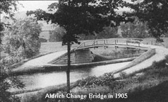 Aldrich Change Bridge in 1905