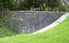 Erie Canal Lock No. 59 at Newark - eastern end, looking south