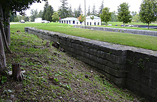 Erie Canal Lock No. 59 at Newark - inside the south chamber