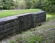Erie Canal Lock No. 59 at Newark - the south chamber