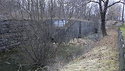 Erie Canal Lock No. 62 at Pittsford - north chamber