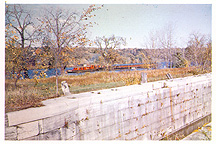 The 'Yankee Hill Lock' (Lock No. 28, 1841), Fort Hunter, N.Y.