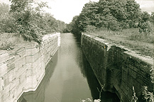 Old Erie Canal Lock No. 28, Fort Hunter, N.Y.