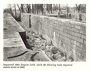 Enlarged Erie Canal Empire Lock 29, Fort Hunter, N.Y., 1968